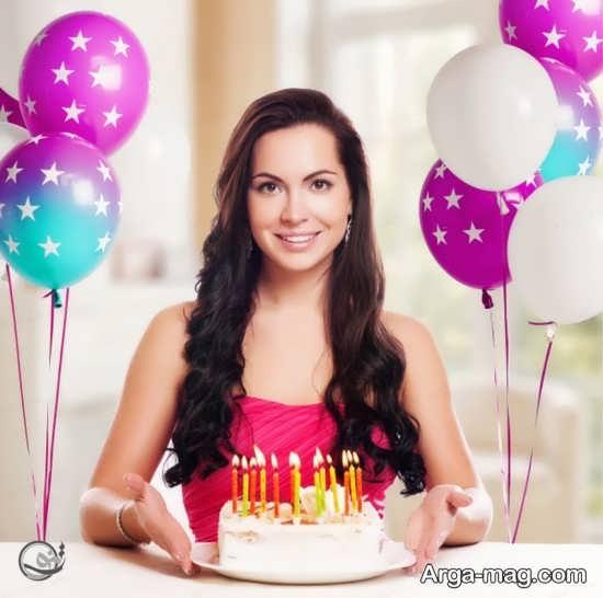 فیگور جالب با کیک تولد