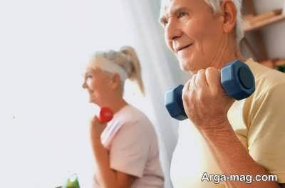 برخی از تمرینات آمادگی جسمانی