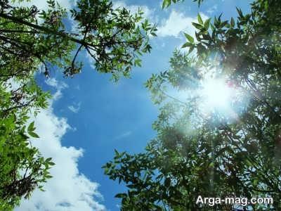 اشعاری زیبا در مورد آسمان