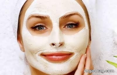 ماسک پودر پوست انار