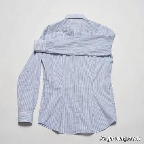 تا زدن پیراهن