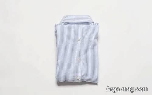 تا زدن پیراهن مردانه