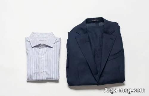 جلوگیری از چروک شدن پیراهن و کت مردانه