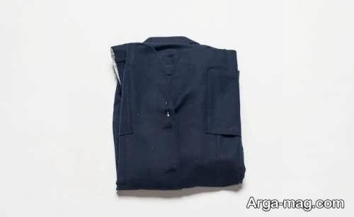 جلوگیری از چروک شدن لباس با تا زدن آن