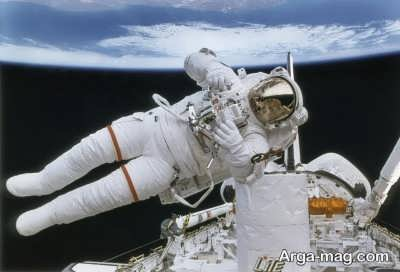 کاهش قدرت فضانوردان در فضا