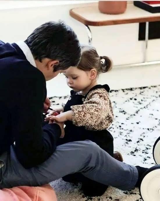 مجموعه جدید عکس نوشته پدر و دختر