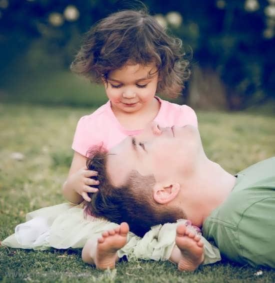 عکس پروفایل پدر و دختر بسیار جذاب و خاص