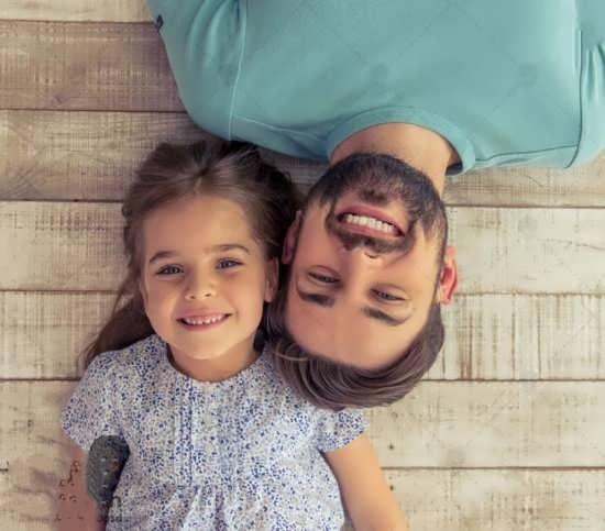 مجموعه عکس نوشته پدر و دختر