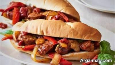 ساندویچ سوسیس در خواب