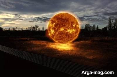 نزدیک ترین سیاره به زمین خورشید است.