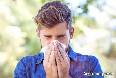 آلرژی نسبت به خاک