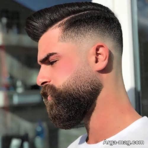 ریش مردانه زیبا و جدید