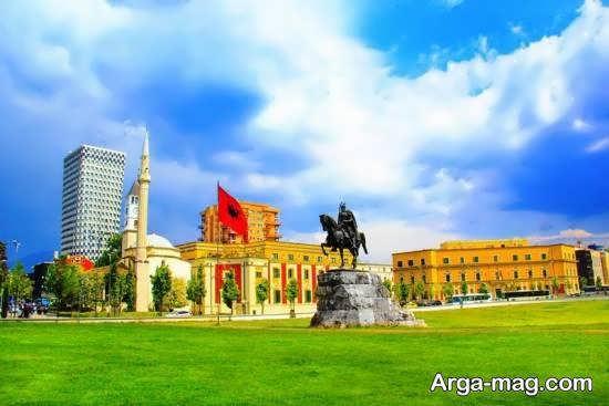 معرفی جاذبه های دیدنی تیرانا مرکز آلبانی