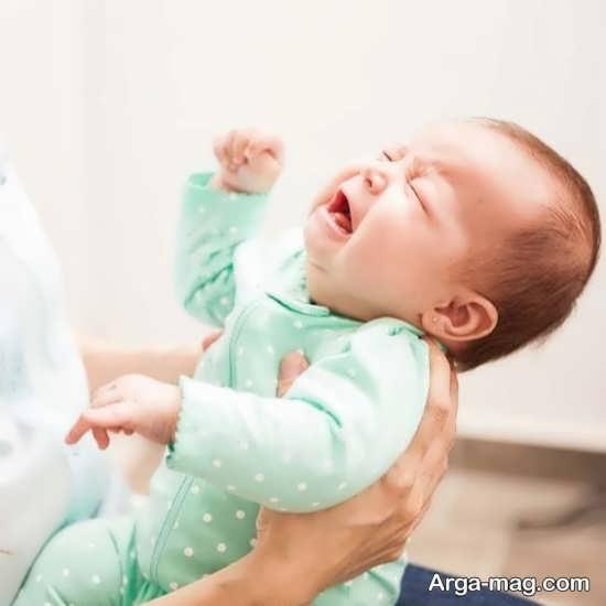 علائم مختلف قولنج نوزاد