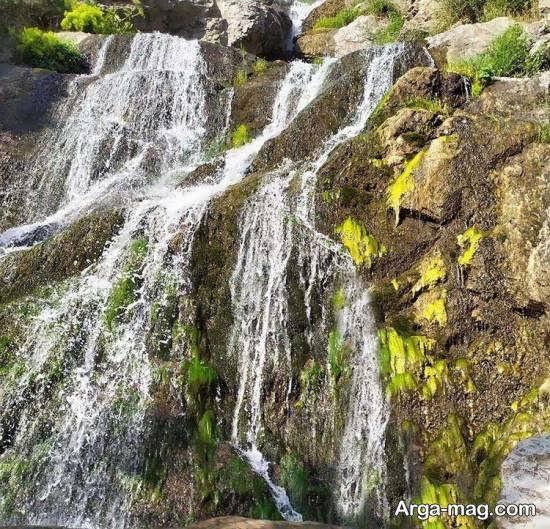 معرفی آبادی زیبای تالون با آبشار خیره کننده