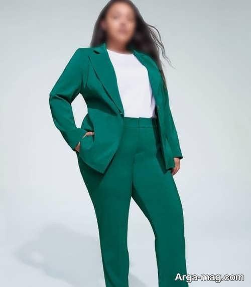 کت و شلوار سبز