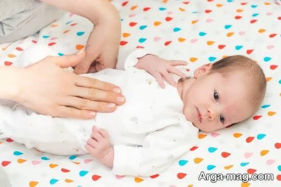 روش های خانگی درمان کولیک نوزاد یک ماهه