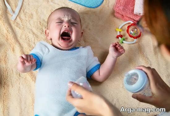 شیوه درمان قولنج کودک یک ماهه
