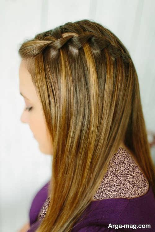 بافت موی زیبا و شیک
