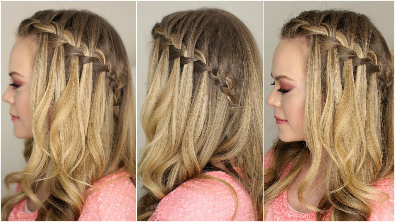 بافت موی آبشاری