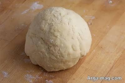 روش تهیه خمیر مانتی