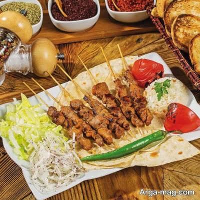 منوی غذایی ترکی