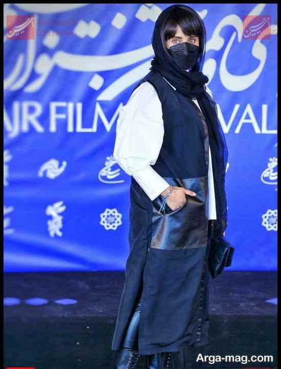 عکس های الناز شاکردوست در مراسم جشنواره فیلم فجر 99