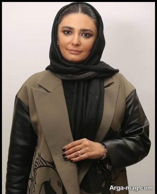 عکس های لیندا کیانی در مراسم سی و نهمین جشنواره فیلم فجر
