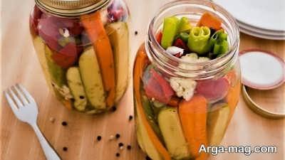 دستور تهیه ترشی سبزیجات