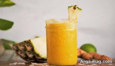 اسموتی آناناس خوشمزه