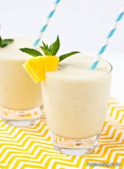 روش تهیه اسموتی آناناس