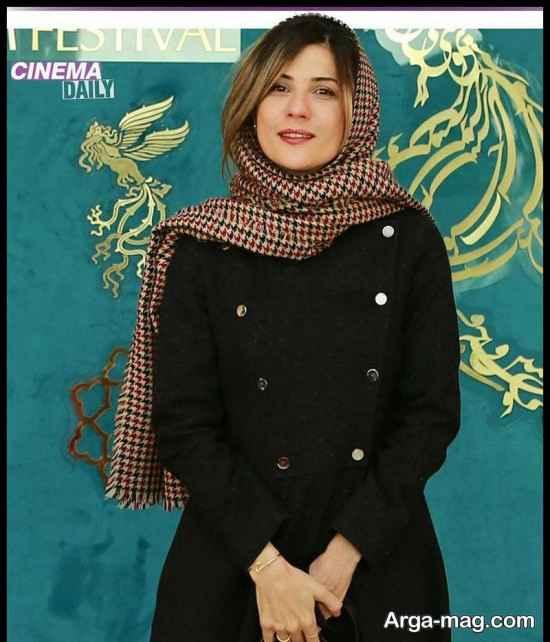 عکس های سارا بهرامی در جشنواره فیلم فجر 99