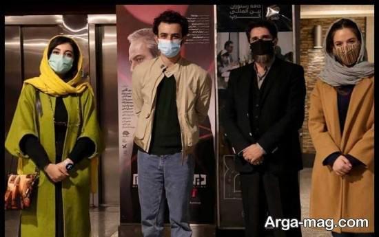 عکس های زیبا کرمعلی در مرسم سی و نهمین جشنواره فیلم فجر