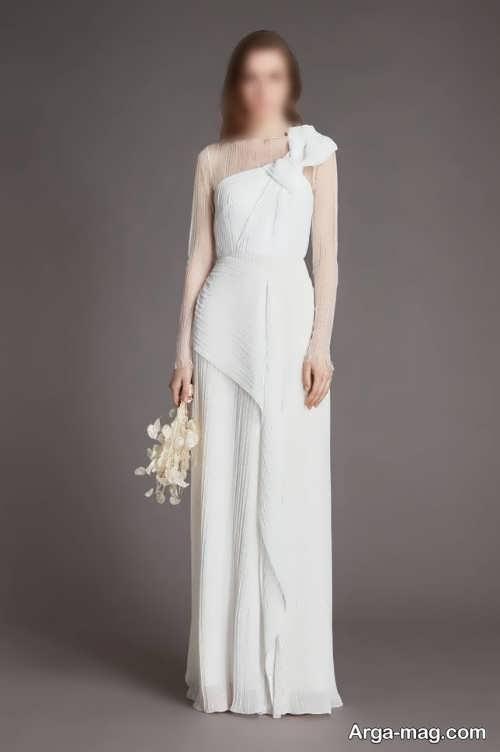 مدل لباس عروس ۱۴۰۰ با طراحی جدید و چشم نواز