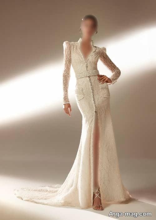مدل پیراهن عروس شیک 1400