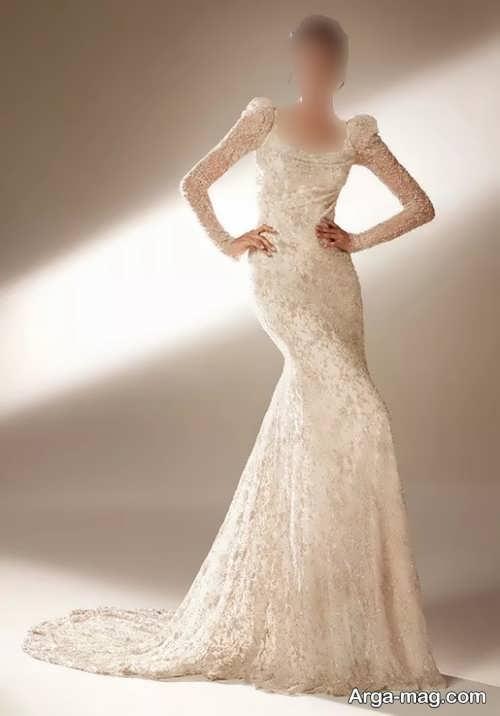 لباس عروس گیپور 1400