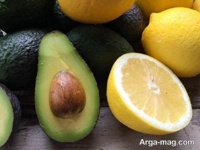 آووکادو و پرتقال