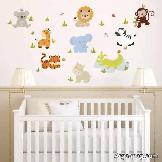 برچسب اتاق نوزاد در طرح های گوناگون و متنوع