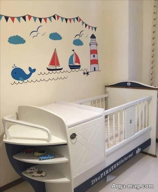گالری لوکس و خاصی از استیکر اتاق نوزاد