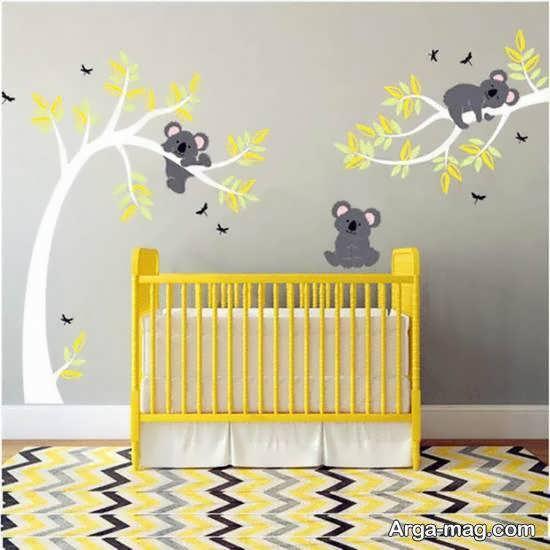 برسب های دیواری اتاق نوزاد