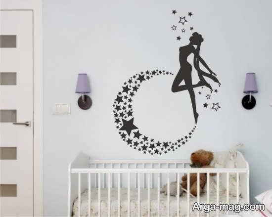 استیکر اتاق نوزاد با طرح های حیوانات و ...