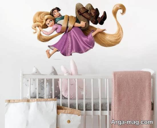 برچسب های زیبا و مورد توجه اتاق نوزاد