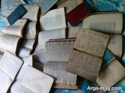 جملاتی برای پشت نویسی کتاب