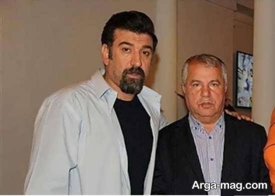 بیوگرافی علی پروین + همسرش