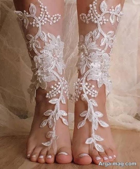 نمونه های شیک و لاکچری پابند عروس
