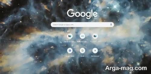 عوض کردن بک گراند گوگل کروم