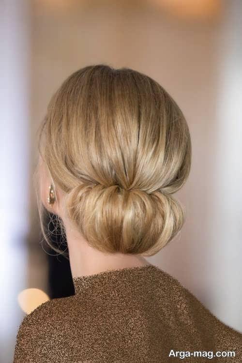 آرایش موی زنانه گره ای