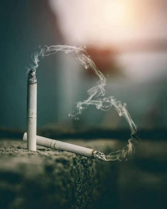 عکس پروفایل جالب و لاکچری سیگار