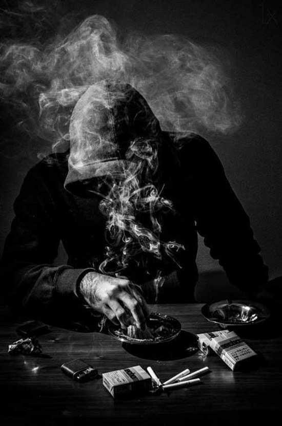 عکس پروفایل سیگار پسرانه خفن
