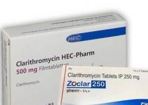 آشنایی با قرص کلاریترومایسین